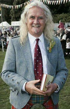 British Comedy, British Actors, Billy Connolly, Scottish People, Men In Kilts, Actrices Hollywood, Celebs, Celebrities, Famous Faces