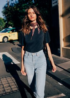 """""""You'll usually find me in jeans and a T-shirt. My favourite outfit changes every week"""". See more from Jemimah Di Natale and shop her style here."""