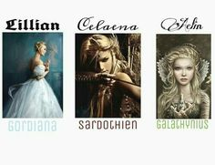 They forgot Elentiya<<<<She doesn't have a last name, but if that's what we are saying, then Diana is missing as is Fireheart and one other