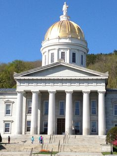 Montpelier, VT -  the Capital dome