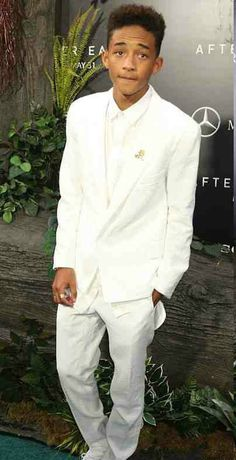 Jaden Smith ♥ not yet a man but hes too cute (: