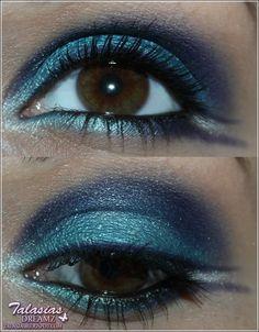 Blue Eye Make Up - Datum: 26.05.2012  http://talasia.blogspot.de/2012/06/amu-beni-durrer-lidschatten-aquarius.html