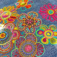 list of hand embroidery stitches #Handembroiderystitches