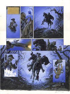 Le Scorpion: Tome 2 - planche 4 par Enrico Marini, Stephen Desberg - Œuvre originale