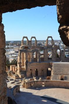 L'Amphitheatre, El  Djem, Tunísia