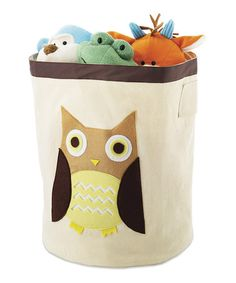 Look at this #zulilyfind! Brown Owl Storage Bin #zulilyfinds http://www.zulily.com/invite/sruss4420