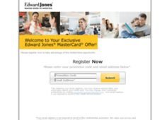 http://www.edwardjonescreditcardr.com/  Online Application for the Edward Jones credit card, sign-on to your Edward Jones credit card, pay your bill, view your card statements and compare similar cards.