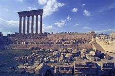 baalbek ancient city - lebanon  I have been here with my father in 1998