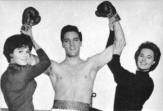 Elvis Presley as a fighter