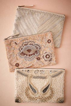 Anthropologie Beaded purses