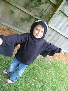 Toothless hoodie all my kids are getting one i shall learn to make it!!!!