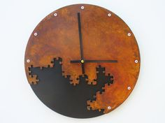 Rusted Puzzle Clock II