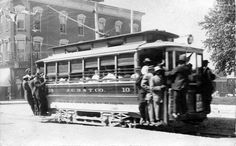Monroe and High Street trolley, Jefferson City, Missouri :: Missouri State Archives - Photo Collections Jefferson City Missouri, Great Memories, City Streets, Capital City, Historical Photos, Street View, Tours, Explore, History