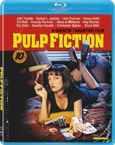 Amazon.com: Pulp Fiction [Blu-ray]: John Travolta, Uma Thurman, Samuel L. Jackson, Bruce Willis, Tim Roth, Amanda Plummer, Laura Lovelace, Phil LaMarr, Frank Whaley, Burr Steers, Ving Rhames, Paul Calderon, Quentin Tarantino, Bob Weinstein, Danny DeVito, Harvey Weinstein, Lawrence Bender, Michael Shamberg, Roger Avary: Disclosure: Affiliate Link