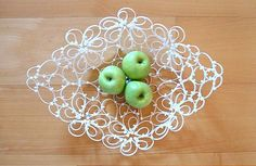 Use cable tie to make a fruit plate. #CableTie