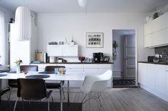 nice scandinavian kitchen