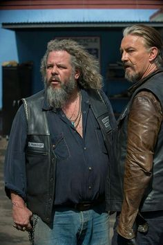 Sons of anarchy Chibs & Bobby......Two of my favorites I love them both!
