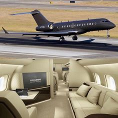 Private Jet with Bedroom . Private Jet with Bedroom . the Boeing 747 Vip Version is the Final Word In Luxury Air Jets Privés De Luxe, Luxury Jets, Luxury Private Jets, Helicopter Private, Private Plane, Lamborghini Gallardo, Avion Jet, Private Jet Interior, Aircraft Interiors