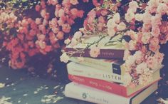 Image via We Heart It https://weheartit.com/entry/137495754/via/26341278 #books #cherryblossoms #photograph #pretty #professional #vintage #weheartit