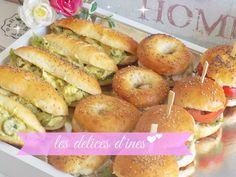 Recette petits pains ultra moelleux Kefta/poulet à l'indienne/thon