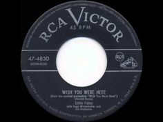 ▶ 1952 HITS ARCHIVE: Wish You Were Here - Eddie Fisher (a #1 record) - YouTube