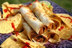 Bake It and Make It with Beth: Creamy Sweet Potato and Bean Taquitos (Vegetarian)...