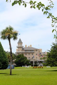 """Georgia's list of """"10 Must-Dos on Jekyll Island!""""  I got to work on a SCAD Student film and this hotel was our set for the weekend! Loved every minute of it."""