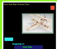 Balsa Wood Model Airplane Plans 144042 - The Best Image Search