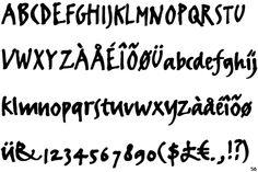 SCRIPTES /  écriture manuscrite et fantaisiste. Famille très vaste. Les caractères sont inclinés, et comportent des ligatures. Elles imitent le geste -> Ariston, Mistral, Rondo, Traflon, Bickham, Plumero, Bello / http://mylene-baba.blogspot.fr/2013/01/les-scriptes.html