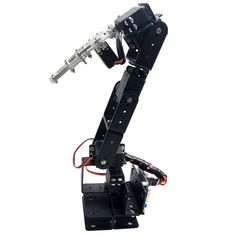44.33$  Buy here - http://ali2uz.shopchina.info/go.php?t=32665743575 - 6D-3U Robot 6 DOF Aluminium Clamp Claw Mount kit Mechanical Robotic Arm with Metal Servo Horn 44.33$ #bestbuy