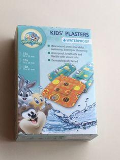 40 LOONEY TUNES KIDS PLASTERS BANDAGES Dermatologically tested Waterproof  | eBay