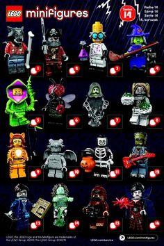 Lego Minifigure Inspired Design Slender Man Horror Themed Brand New /& Sealed