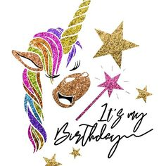 Glitter Unicorn: It's My Birthday - Birthday Gifts For Girls 12th Birthday Girls, Happy 12th Birthday, Happy Birthday Pictures, Birthday Love, Birthday Month, Birthday Gifts For Girls, Unicorn Birthday Parties, Unicorn Party, Birthday Wishes