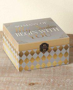 Decorative Sentiment Boxes|LTD Commodities