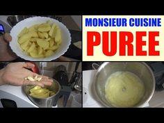 vidéo purée avec Monsieur cuisine robot silvercrest (Lid'l)
