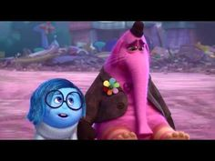 How to sit with emotion in order to move through it.  Inside Out - Sadness comforts Bing Bong - YouTube