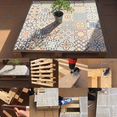 DIY table Perfect for outside!