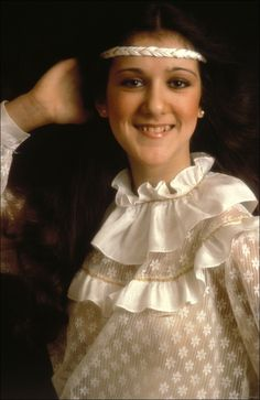 Because at 14-years-old, she was already wowing Canadian audiences with her voice and creative headband wearage. | 8 Reasons Why Young Celine Dion Was A Gift To Us All