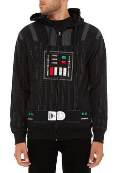 Sudadera a la Darth Vader