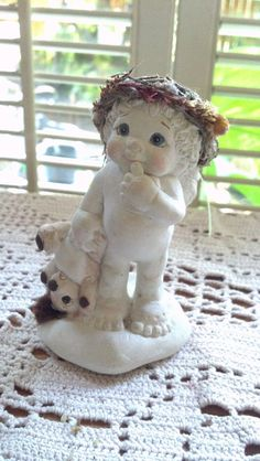Vintage Dreamsicles Cherub Angel Cast Art By by PattiesPassion, $14.88