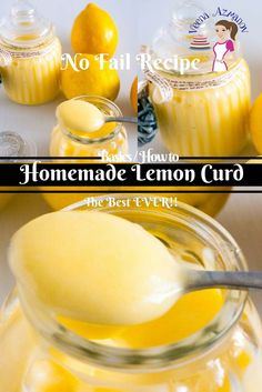 This no fail lemon curd recipe will give you the confidence you need to make fruit curd like never before. My step by step pictures, tips and trouble shooting