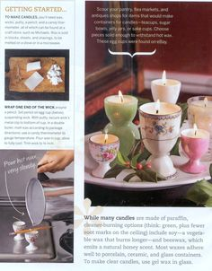 Teacup Candle Making