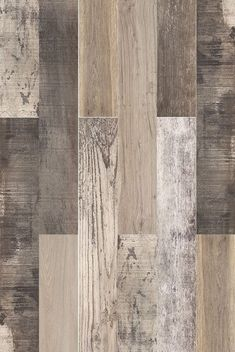 Great variety of colours and designs in the New England Mix wood effect tiles