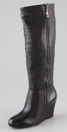 #Steven Meteour Wedge Boots. $230. Have these and love them!