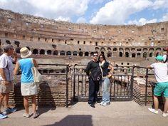 Rome: inside the colosseum