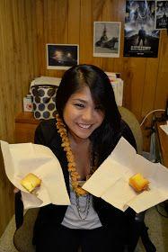 It's Paula Deen's favorite food, y'all - BUTTER! Butter Mochi, Paula Deen, Asian Recipes, Recipies, Deserts, Favorite Recipes, Custard, Puddings, Birthday
