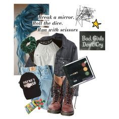 Untitled #348 by prettylies-uglyface on Polyvore featuring Josh Goot, Y/Project, Dickies, Wild Pair, H&M and Dr. Martens