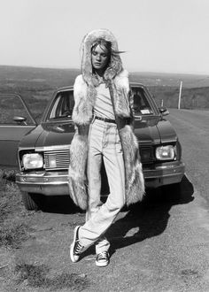 """Natalia Vodianova in """"Lost Highway"""" by Carter Smith for Vogue Japan November 2002"""