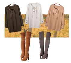 """Simple autumn set"" by anniesaenz on Polyvore featuring Stuart Weitzman"