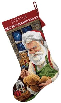 Dimensions Needlecrafts Needlepoint, Bearly Christmas Stocking Dimensions Needlecrafts http://www.amazon.com/dp/B002CMIU3S/ref=cm_sw_r_pi_dp_w89mub002B728